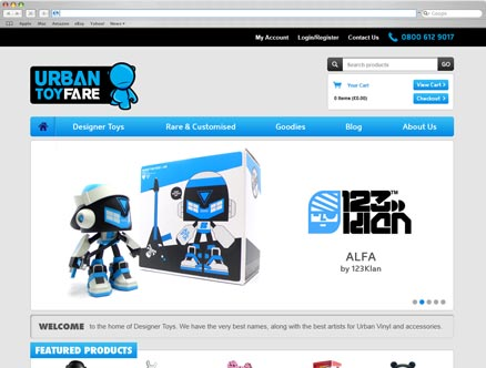 Urban Toyfare design and developed by Fantasmagorical