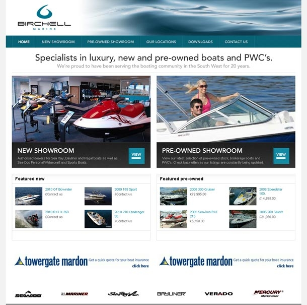 Birchell Marine home page