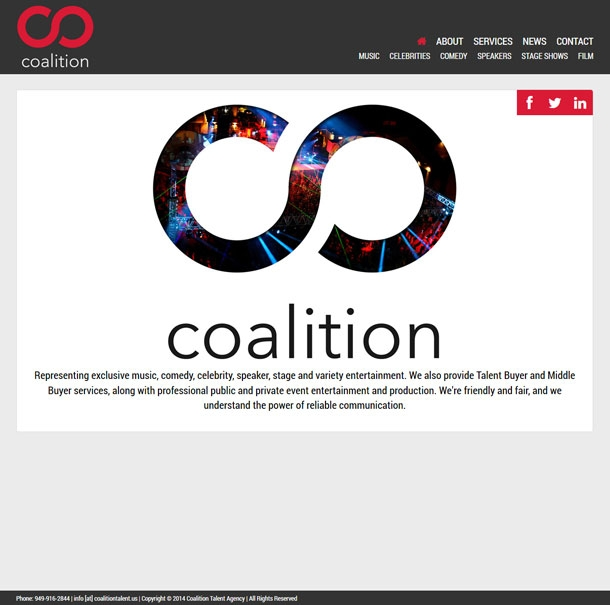Coalition Talent Homepage