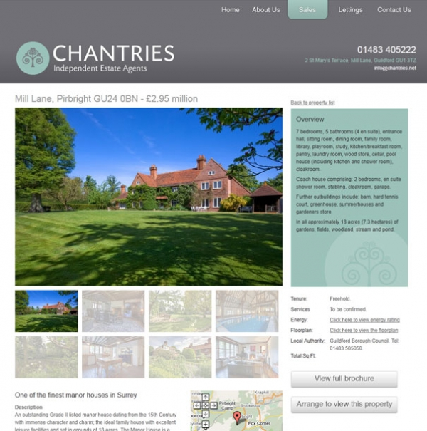 Chantries Individual Property Page