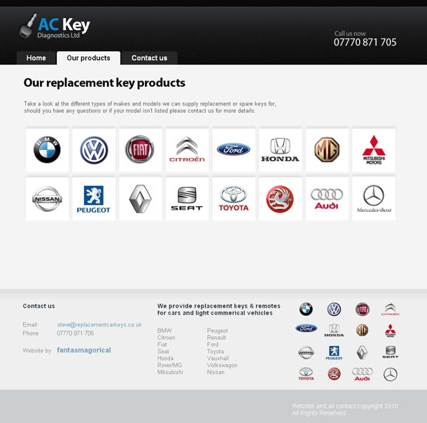 Replacement Car Keys Products